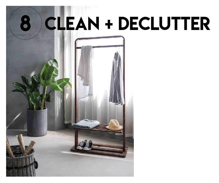 clean and declutter
